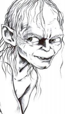 Gollum by lotfree